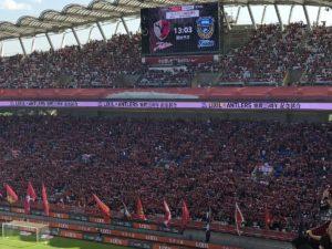 LIXIL×鹿島アントラーズ協賛25周年試合 スタジアム