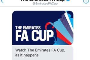 Twitter、エミレーツFAカップのハイライト動画をDMで英国外のファンに配信〜登録方法もご紹介〜