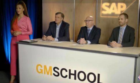 SAP、ファンがNBAのGMを目指すTVショー『SAP GM School』を制作〜データの重要性をファンにアピールする狙いとは?〜